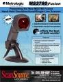 Многоплоскостной сканер Metrologic MS 3780 Fusion темно-серыйRS232MK3780-61C41